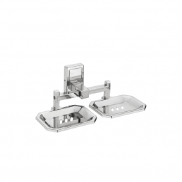 SS Double Soap Dish Holders