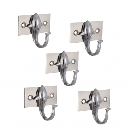 wall mounted zinc Fish Hooks