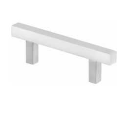 H type Cabinet Handle 10 mm X 256 mm Stainless Steel 202