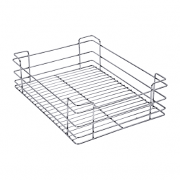 Stainless Steel Plain Drawer Basket