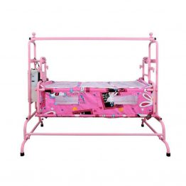 pink Butterfly Automatic Baby Cradle Super - Ghodiya Automatic Deluxe Cradle