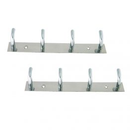 multiple towel hook rack
