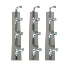 hook rack - Stainless Steel multiple robe hook rail